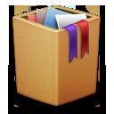 Bin, Cardbox, Full, Garbage, Recycle, Trash Icon