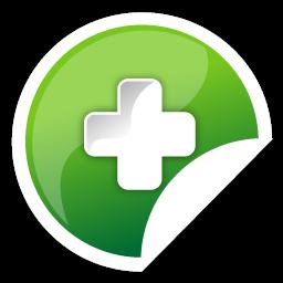 Add, Green Icon