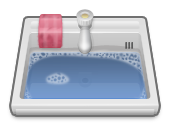 Sink, Wash Icon