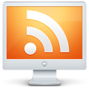 Feed, Monitor, Rss, Screen Icon
