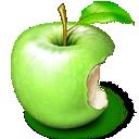 Apple, Fruit, Green Icon