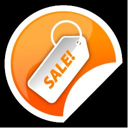 Orange, Sale Icon