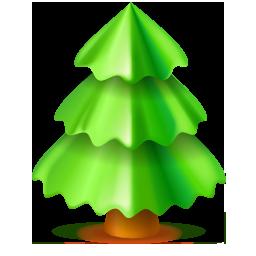 Christmas, Tree Icon