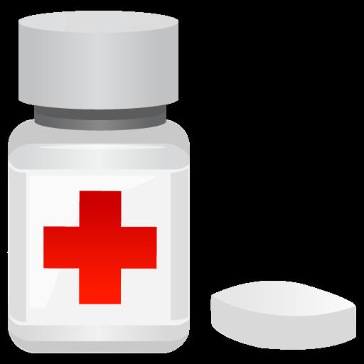 Jar, Medicine Icon