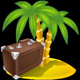 Holiday, Management, Sightseeing, Travel Icon