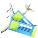 Air, Tickets Icon