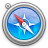 Agua, Safari Icon