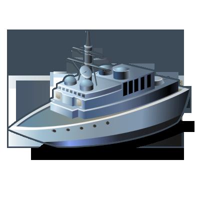 Destroyer, Ship, Warship Icon