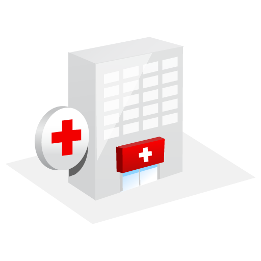 Emergency, Hospital, Room Icon