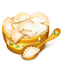 Bowl, Eat, Spoon Icon