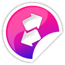 Purple, Transfer Icon