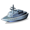 Destroyer, Ship, Warship Icon