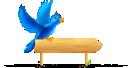 Bird, Sign, Twitter Icon