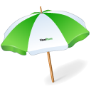 Holiday, Umbrella Icon