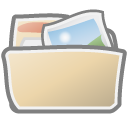 Folder, Photos Icon