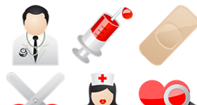 Medical Vista Icons