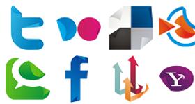 Social Sticker Set Icons