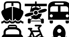 Symbolicons Transportation Icons