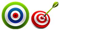 Target Dart Icons