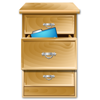 Cabinet, Opened Icon