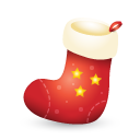 Christmas, Sock Icon