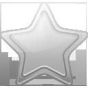 Bookmark, Favorite, Silver, Star Icon