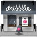 Dribbbles, Hop Icon