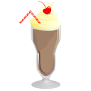 Chocolate, Food, Milkshake Icon