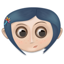 Coraline, Girl, User Icon