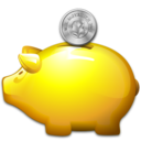 Bank, Money, Moneybox, Piggy, Saving, Savings Icon