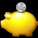 Bank, Money, Moneybox, Piggy, Saving, Savings Icon
