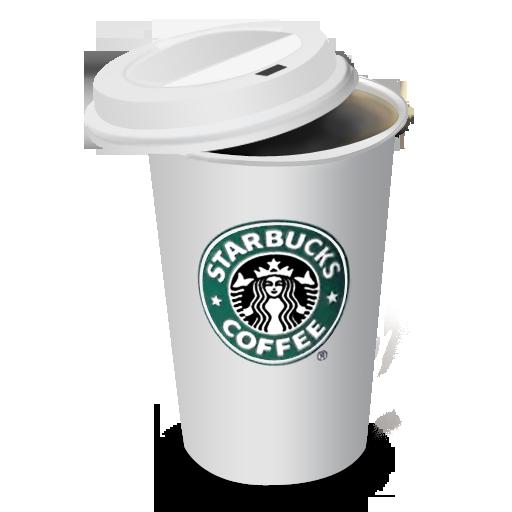 Coffee, Cup, Lid, Starbucks Icon