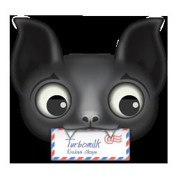 Animal, Bat, Mail Icon
