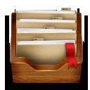Folder, Wooden Icon