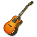 Fire, Guitar Icon