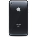 Apple, Black, Iphone, Retro Icon