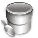 Bucket, Construction Icon