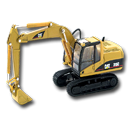 Excavator, Hydrolic Icon