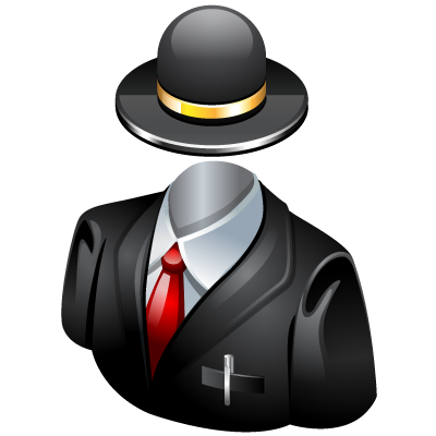 Invisible, Suit Icon
