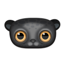 Animal, Black, Leopard Icon