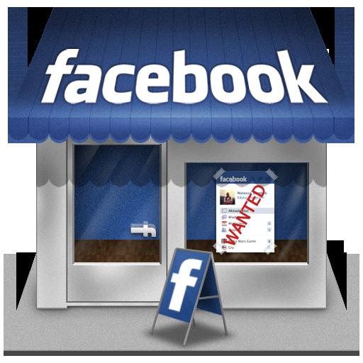 Facebook, Shop Icon