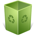 Bin, Empty, Recycle, Trash Icon