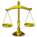 Balance, Gavel, Justice, Law Icon