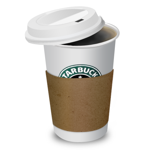 Coffee, Starbucks Icon