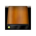 Drive, Wood Icon