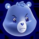 Bear, Grumpy Icon