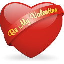 Be, My, Valentine Icon