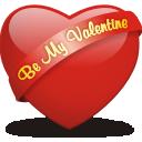 Be, My, Valentine Icon