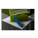 Edit, Folder, Full Icon