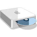 Cd, Mac, Mini Icon